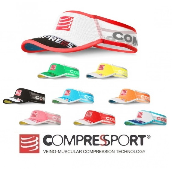 Compressport Ultralight Visor (Red) - Performance Store 408d4daa4d3