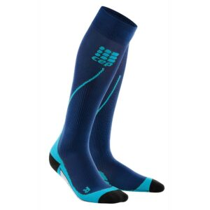 κάλτσες συμπίεσης Cep Run Socks 2.0 Men Deep Ocean/Hawaii Blue