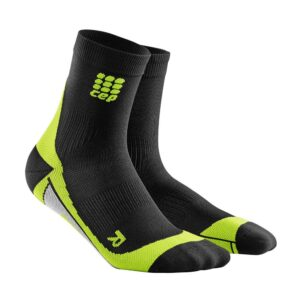 Cep Compression Short Socks Men Black/Green