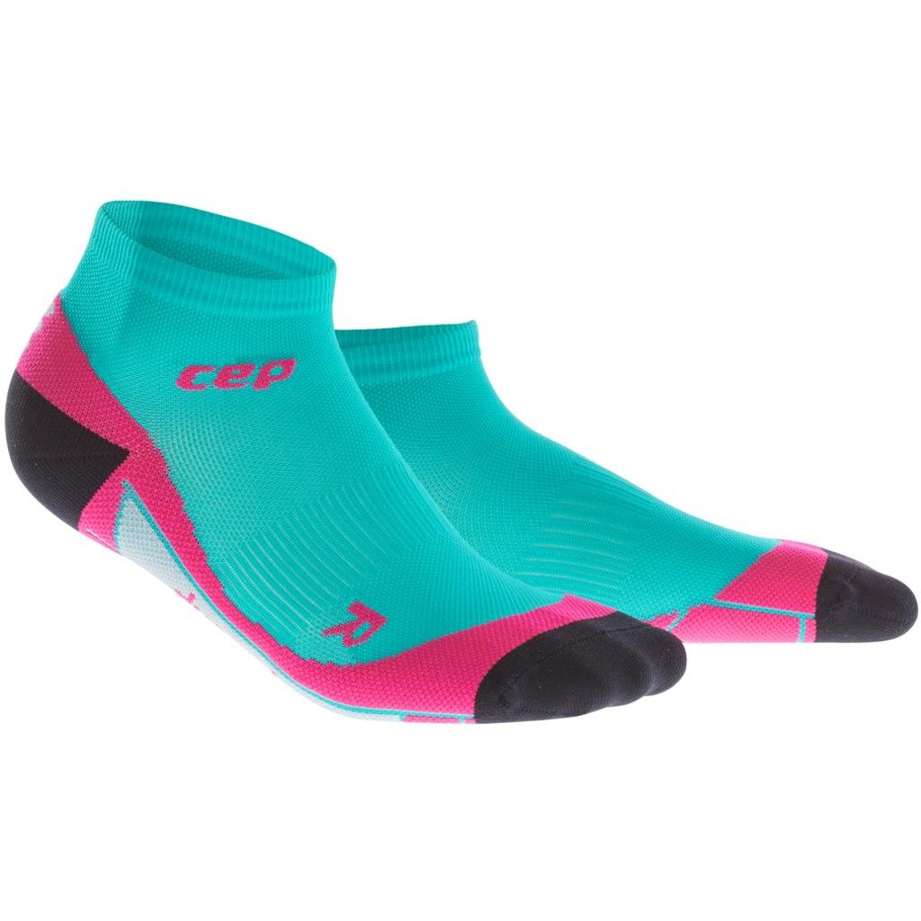 f2de7071022 Cep Compression Low Cut Socks Women΄s Lagoon/Pink