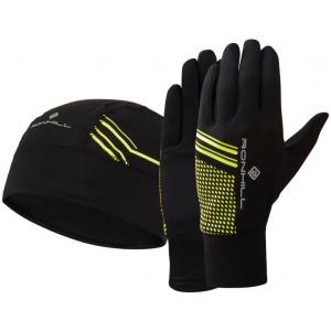 γάντια δρομικά και σκουφάκι