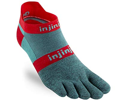 κάλτσες με δάχτυλα Injinji Run 2.0 - Injinji - τεχνικές κάλτσες με δάχτυλα Φυσική θέση των δακτύλων - Προστασία από φουσκάλε