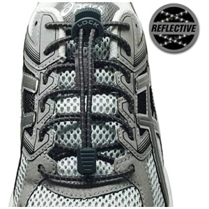 lock Laces Κορδόνια Lock Laces Reflective Storm Gray