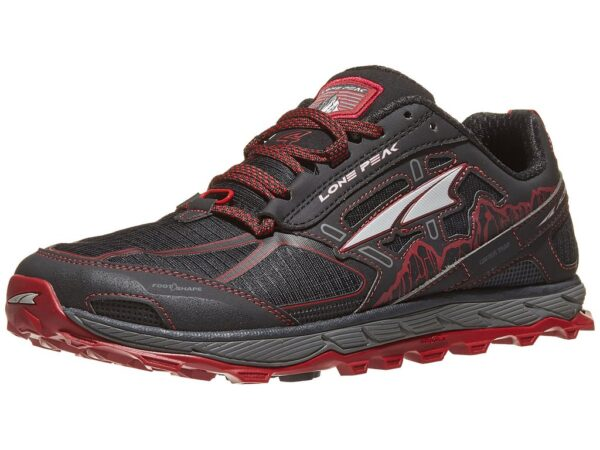 Altra lone peak black red
