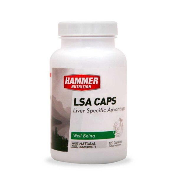 LSA Caps - Liver Specific Advantage | Hammer Nutrition