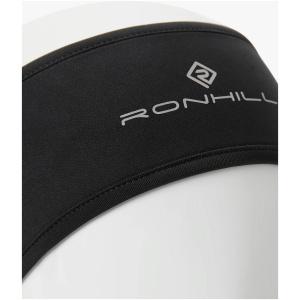 Ronhill Wind-Block Headband, All Black