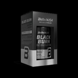 BioTech USA Black Burn - Λιποτροπικό - Καύση Λίπους - ΦυσικόΘερμογεννητικό & Ενέργεια - Με L-καρνιτίνης: L-καρνιτίνη, L-τρυγική και ακετυλική-L-καρνιτίνη