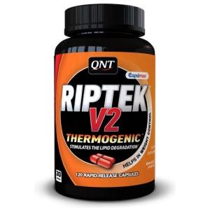 QNT Riptek V2 Λιποτροπικά -Απώλεια βάρους - Δίαιτα - Σμπλήρωμα - Πως να χάσω κιλά - συμπληρώματα απώλεια βάρους - συμπλήρωμα θερμογεννητικό