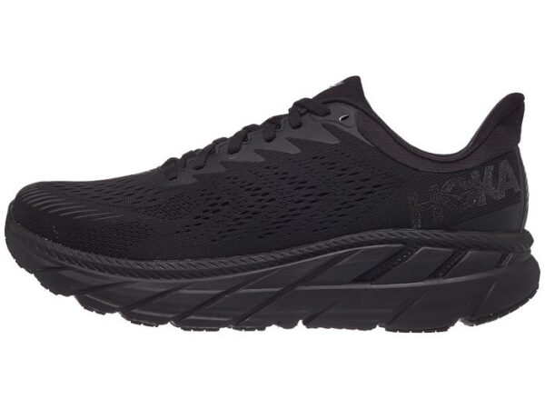 Hoka ONE Clifton Black - HOKA THESSALONIKI - CLIFTON HOKA - SHOES HOKA GREECE BEST prise - skrout hoka hoka one one thessaloniki