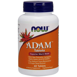 Βιταμίνες Multivitamin ADAM - Vitamines - Θεσσαλονικη Now foods - Multivitamin Now Foods - Thessaloniki - Nutriton Sports -