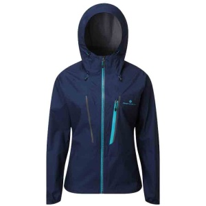 Ronhill Women's Infinity Fortify Jacket Deep Navy Spa Green