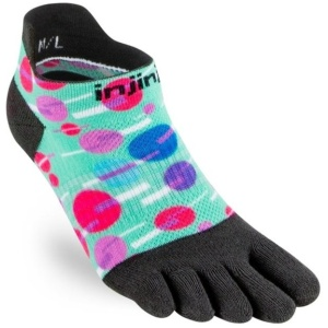 Inijnji  Women's Running Socks - Injinji Socks - Running Socks - Μαραθώνιο τρέξιμο καλτσες - best socks - no blisters - finger socks - toe