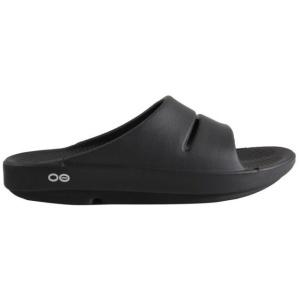 Oofos OOahh Σαγιονάρες Μαύρες - Αθλητικά Είδη - Παπούτσια ρούχα - Τρέξιμο αξεσουάρ - ΚΑΠΈΛΑ - ΠΑΝΤΌΦΛΕΣ - Κατάστημα - Αποστολής