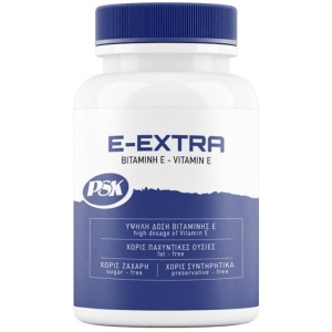 PSK E EXTRA vitamin Κατάστημα θεσσαλονίκης Performance store αθλητικός εξοπλισμός συμπληρώματα διατροφής βιταμίνες ιχνοστοιχεία