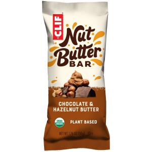 Clif Chocolate & Hazelnut Butter - clif bar - CLIF GREECE BAR - nut bar - energy bar Nut Peanut Butter running - Chocolate organic snack bar
